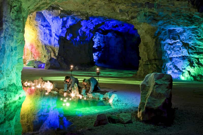 The White Caves of Gudvangen