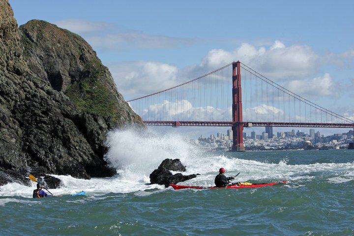 Sea Kayaking At Pier 40, San Francisco