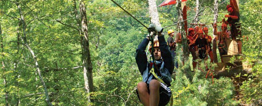 Ziplining In North Carolina