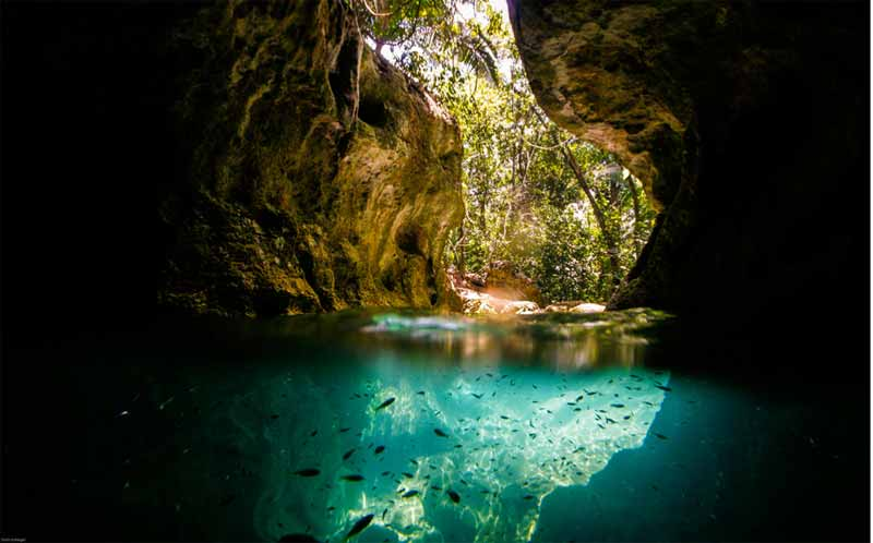 Caving In Belize