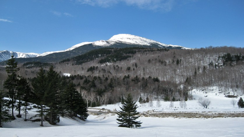 Solo travel in White Mountains, New Hampshire