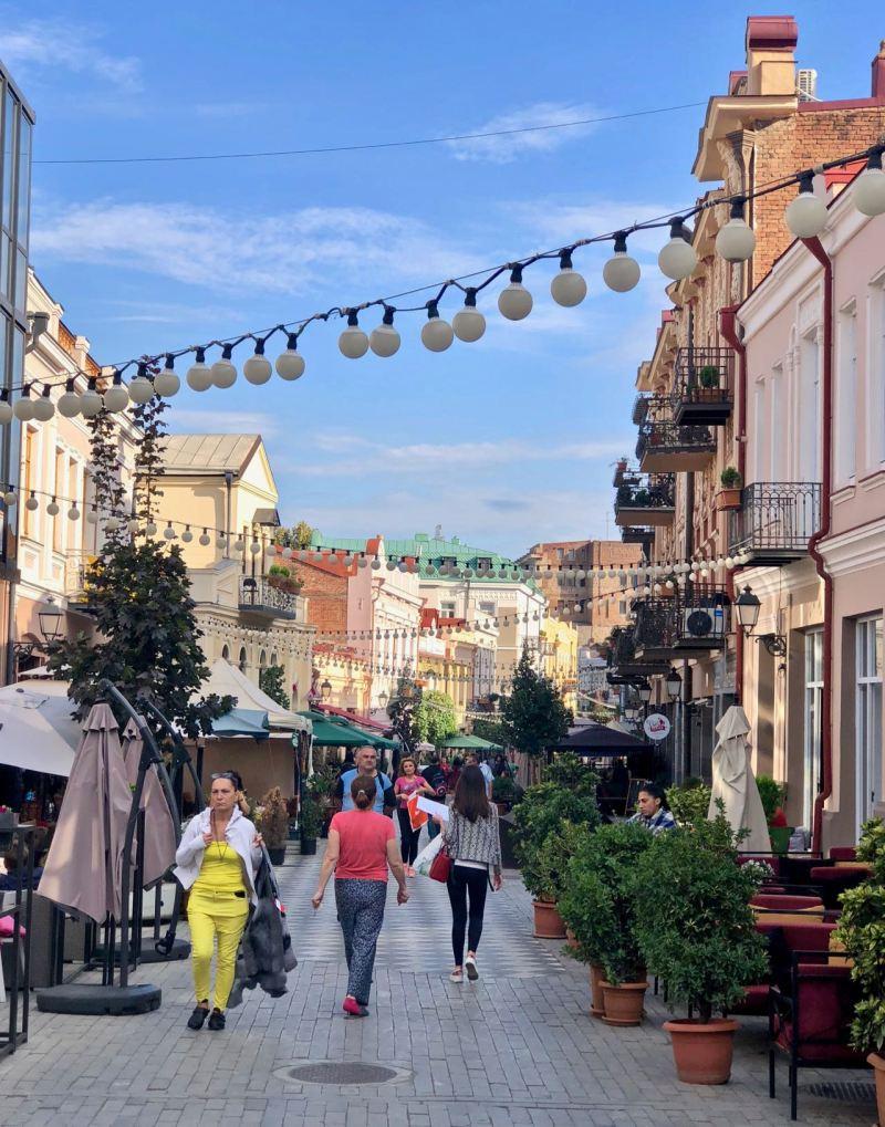 visit tbilisi davit aghmashenebeli avenue
