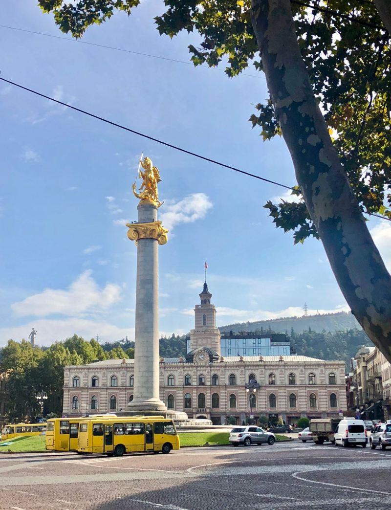 visit tbilisi freedom square