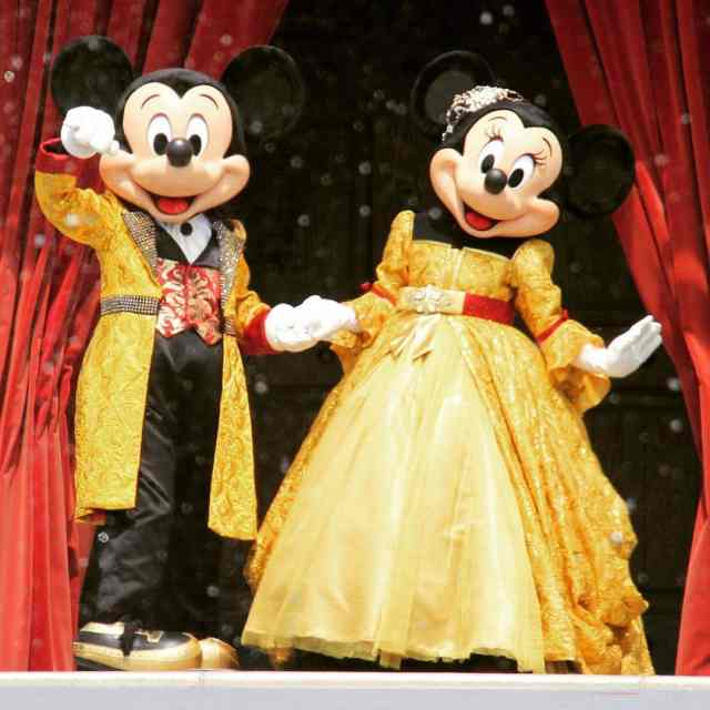 The Golden Couple at the Golden Fairytale Fanfare