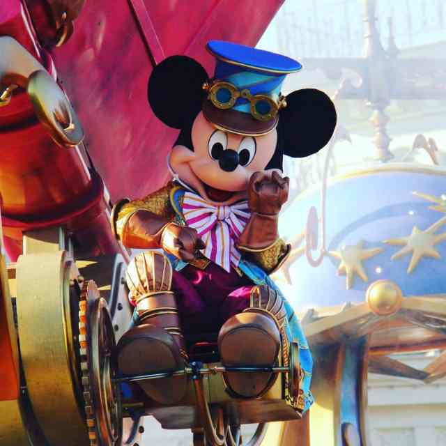 Love your Disney Stars on Parade outfit Mickey!