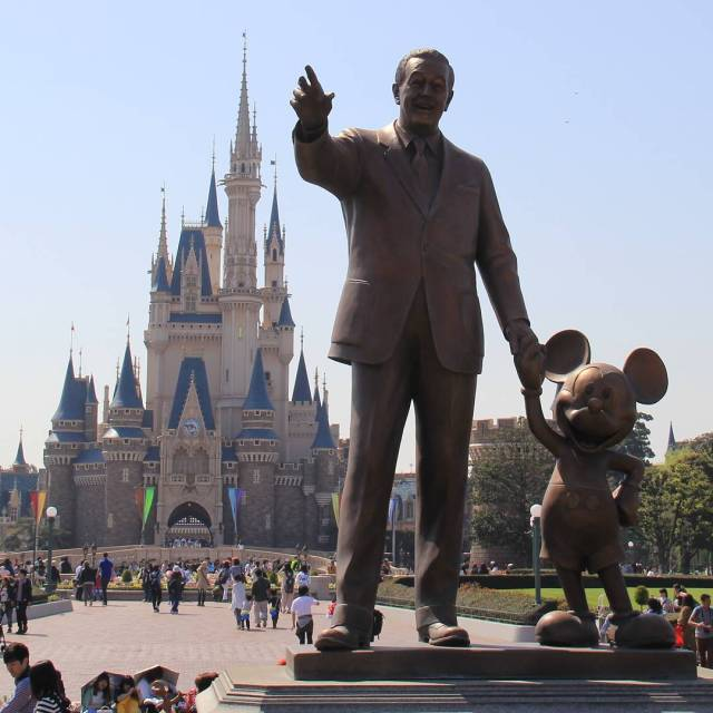 If only we could be back at Tokyo Disneyland