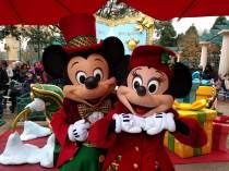 Christmas Disneyland Paris - Mickey and Minnie