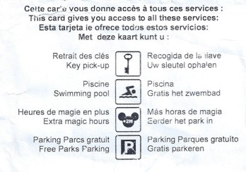Disneyland Paris Hotel Easy Pass - Extra Magic Hours