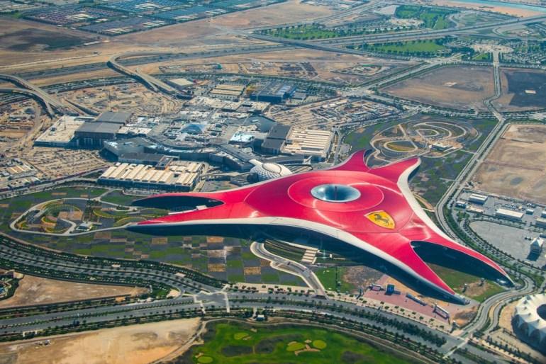 Go to to Ferrari World, Abu Dhabi