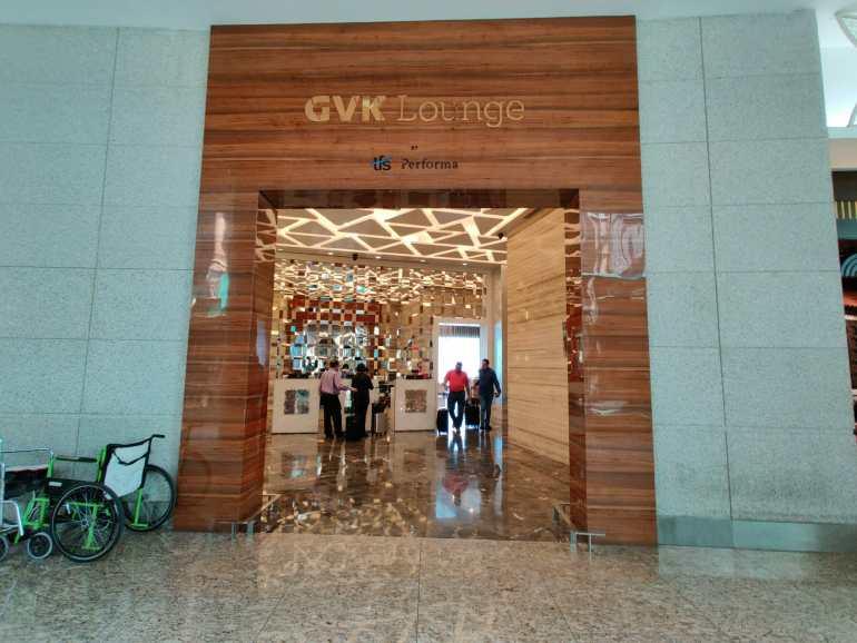 GVK Lounge at Chhatrapati Shivaji Worldwide Airport – #MacroTraveller