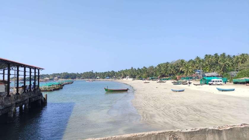 Sindhudurg Fort on the shores of Malvan