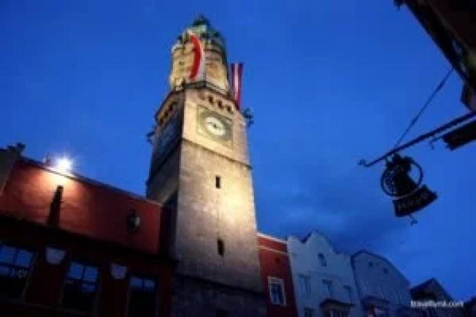 The Innsbruck City Tower (Stadtturm)