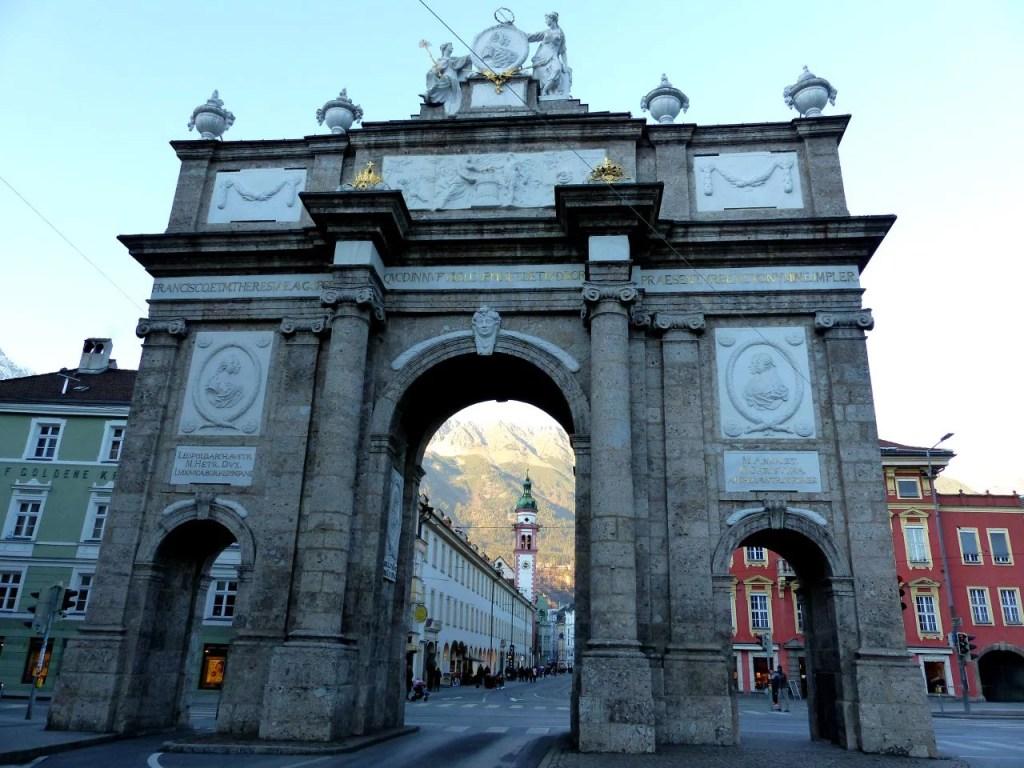 Triumphal Arch in Innsbruck