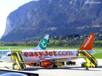 Innsbruck Airport Tarmac.
