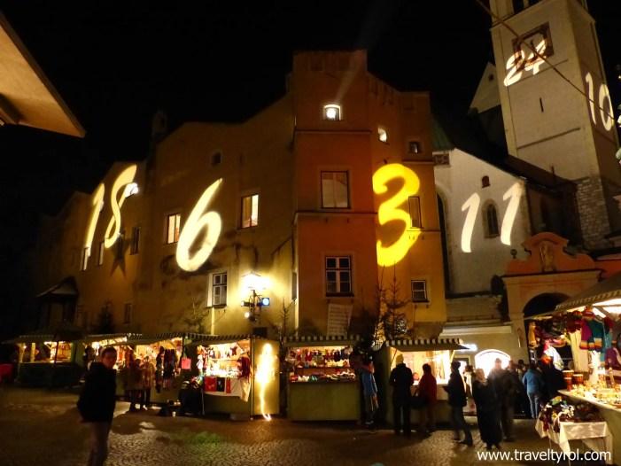 Christmas Market Hall in Tirol