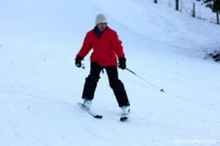 Tips vor beginner skiers.