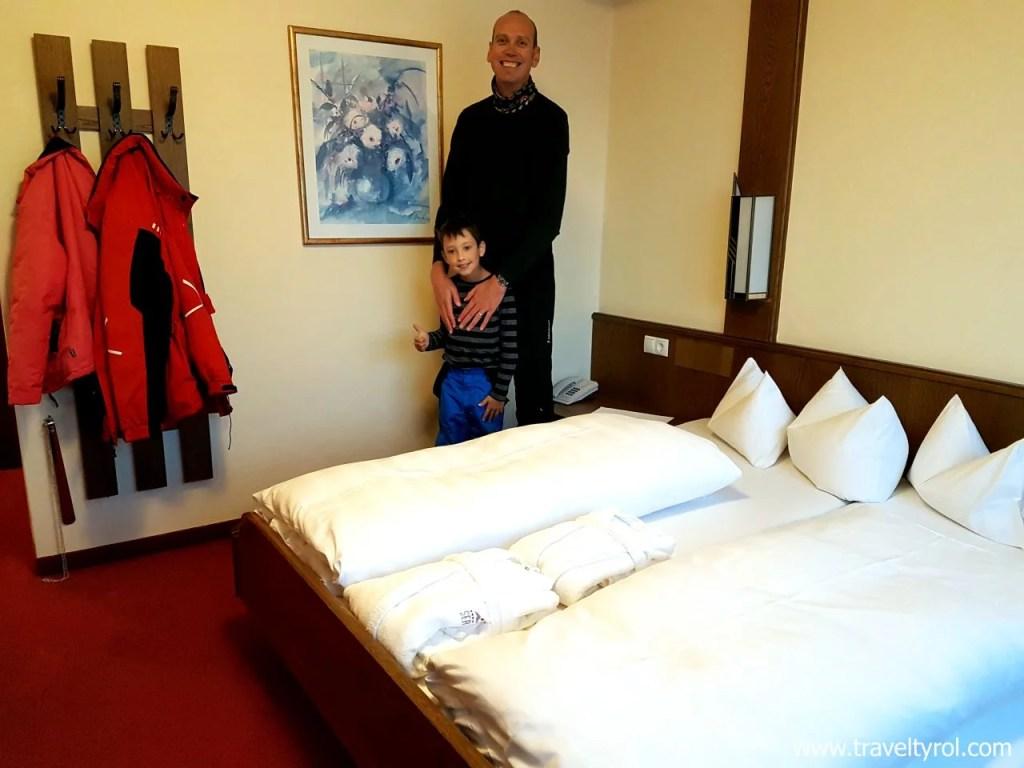 Room in Hotel Serles, Austria.
