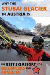 Stubai glacier ski guide.