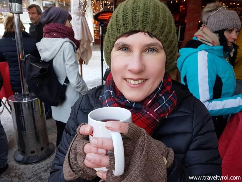 Drinking Glühwein is compulsory at an Austrian Christmas market.