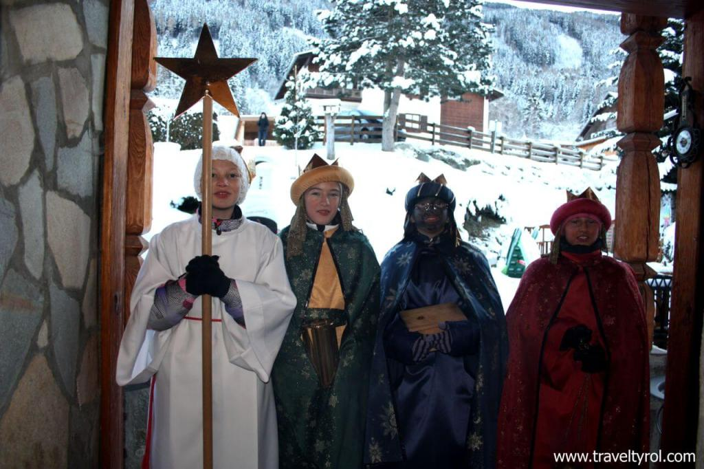 The wise men in Austria.