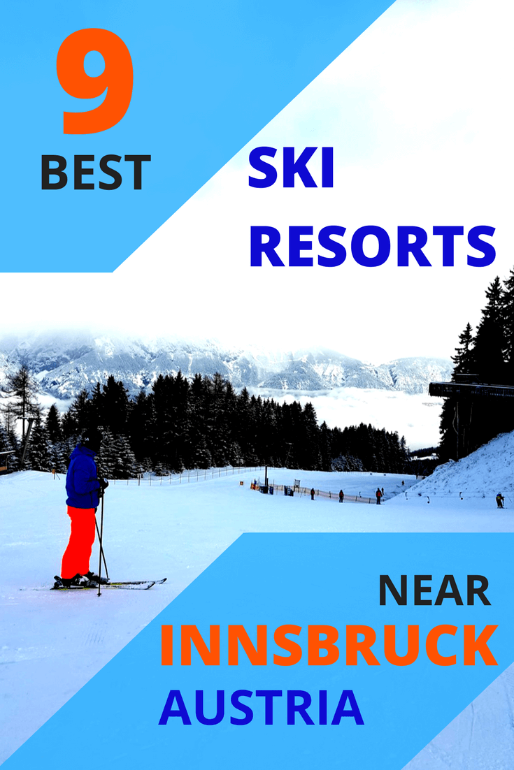 Innsbruck ski resorts