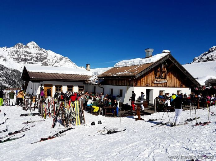 Schlick 2000 is one of the ski resorts near Innsbruck.