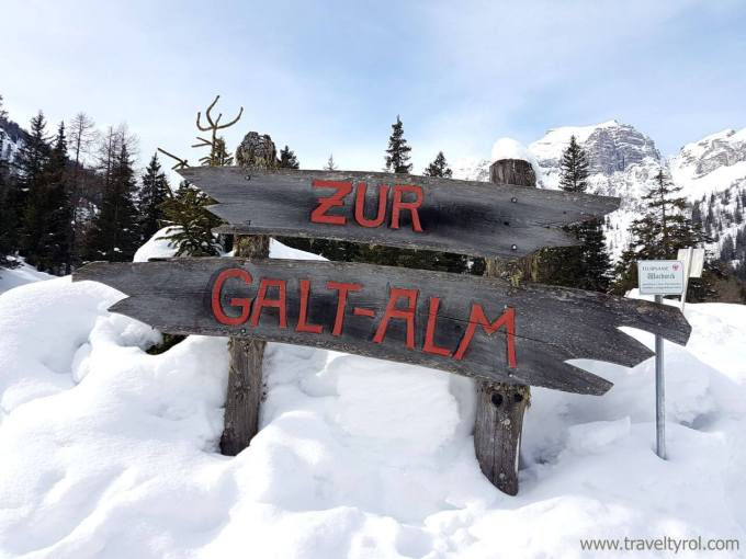 Galtalm sign Schlick 2000