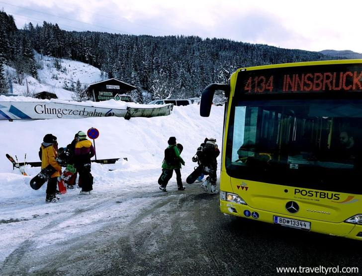 Glungezerbahn bus stop