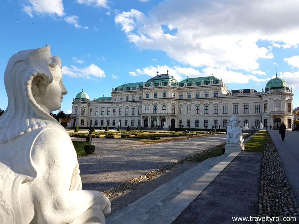 Belvedere Palace Vienna © Travel Tyrol.