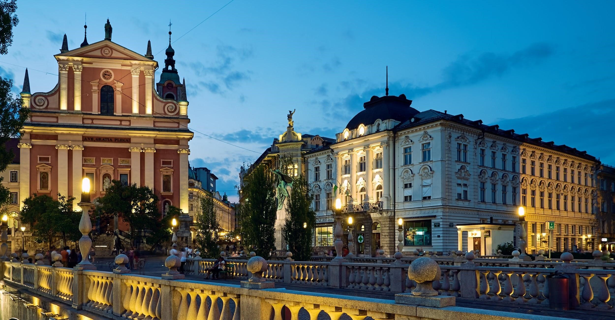 Ljbuljana is not close to Vienna, but worth a day trip if you have time.
