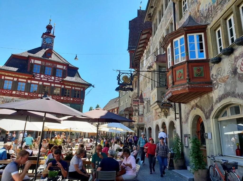 Rathausplatz, Stein am Rhein.