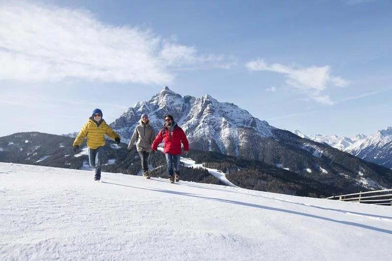 Serlesbahnen ski area.
