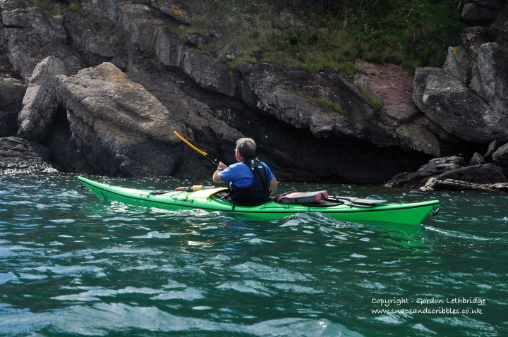 Kayaking in the Bay of Fundy