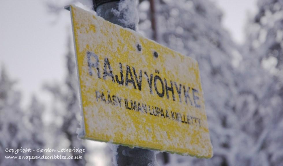 Russian-Finland border