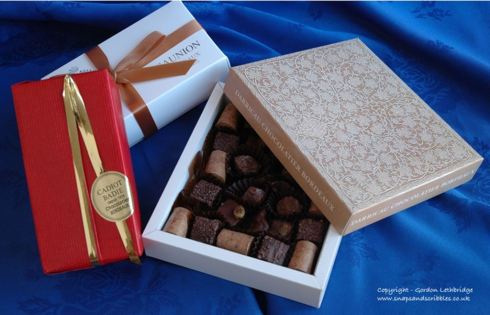 Chocolates from Bordeaux