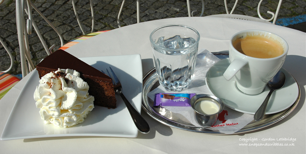 The detour to St Florian is worth it just for this - one of the best Sacher Torte in Austria