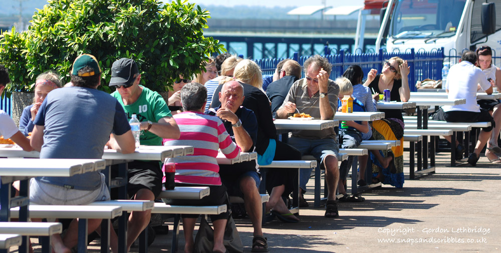 Stokes Hill Wharf, one of Darwin's popular eating places