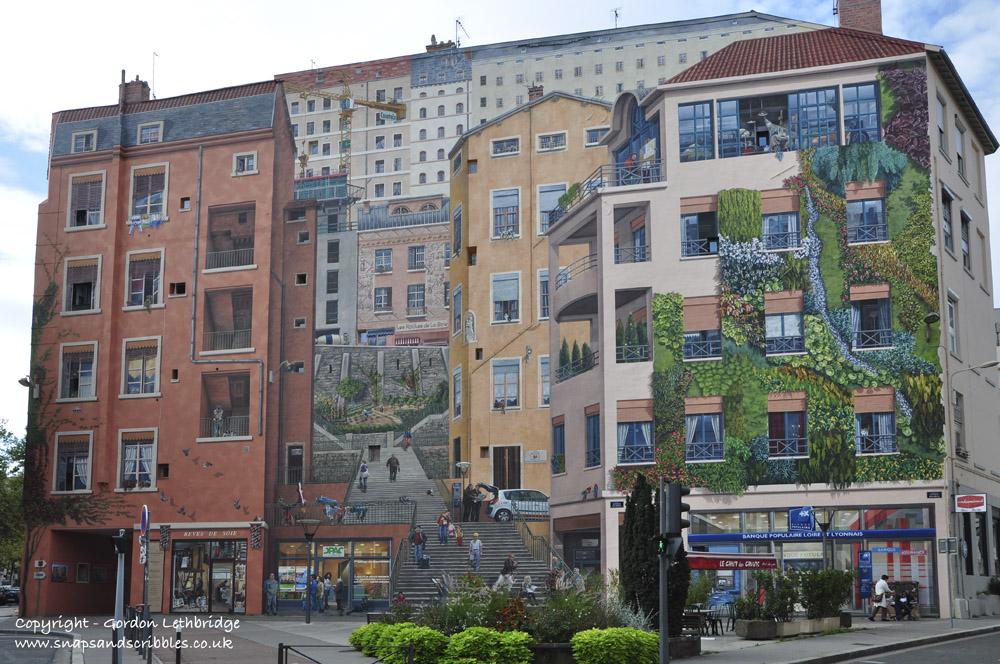 Murals of Lyon Canuts