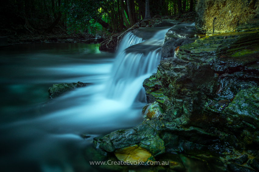 Long exposure shot of water Copyright - Create Evoke