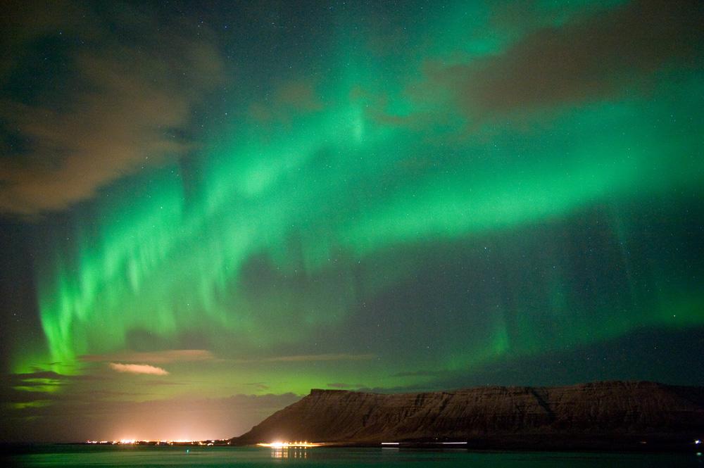 Northern Lights over Iceland © Robert Hoetink - source: www.depositphotos.com
