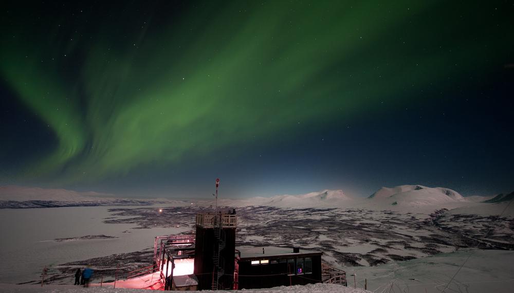 Northern Lights over Abisko © Lola Akinmade Åkerström - source: http://imagebank.sweden.se