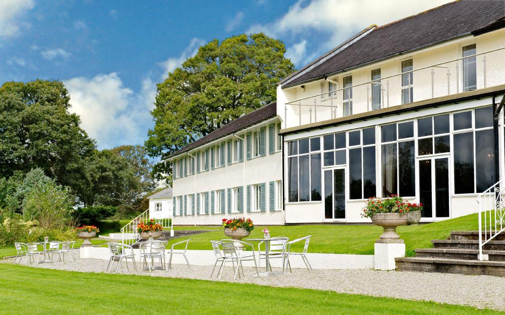The newly refurbished Moorland Garden Hotel