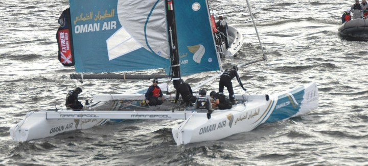 Extreme Sailing with Oman Air