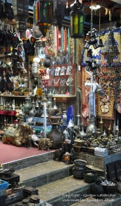 A small shop in the Mutrah Souq
