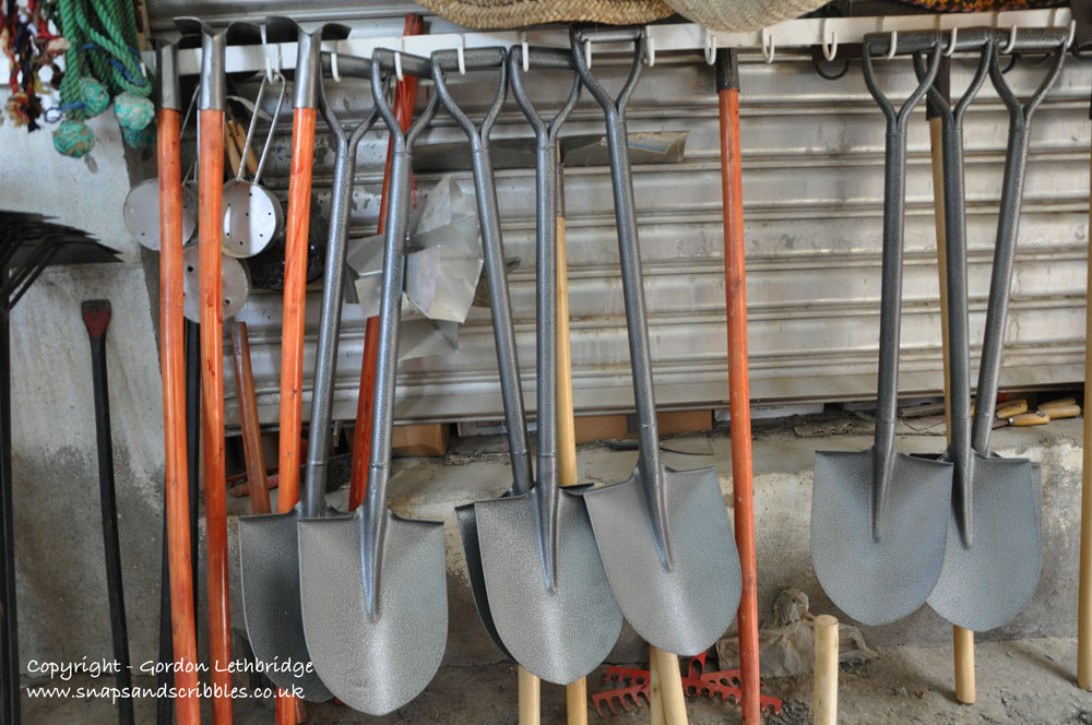 Shovels in the Spice Souq?