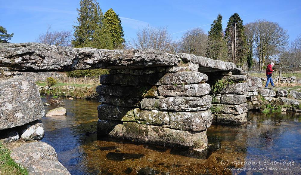 Dartmoor, Postbridge clapper