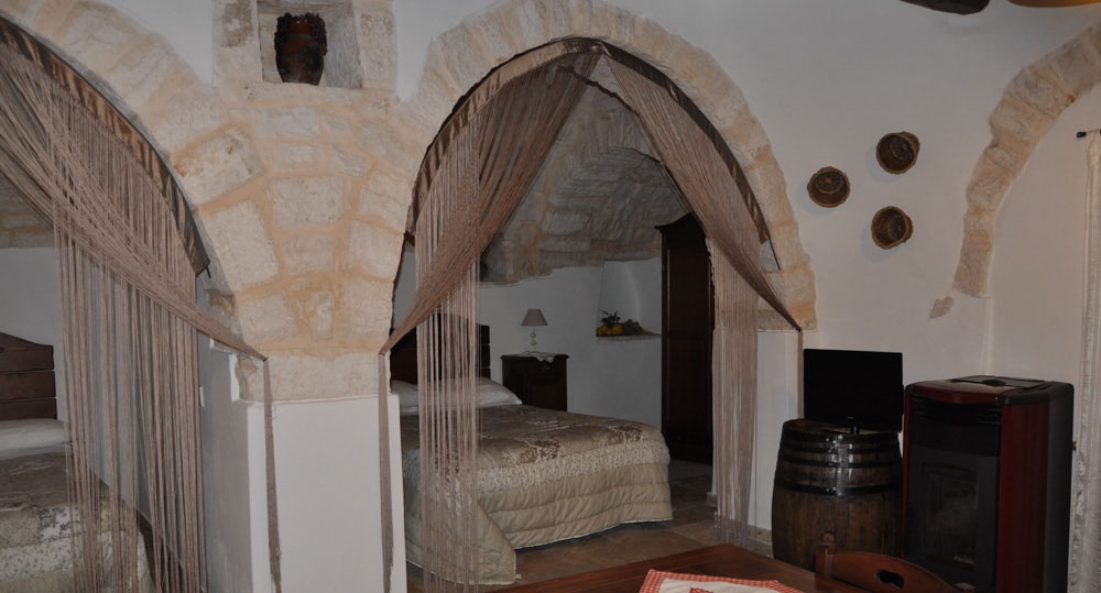 Each trulli is unique and they vary in size quite considerably