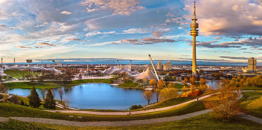 The Olympic Park, Munich