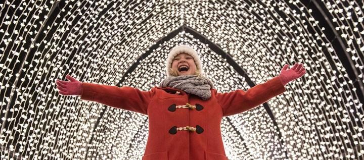 Review: Illuminated Light Trail, Blenheim Palace