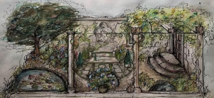 Galicia in a Show Garden